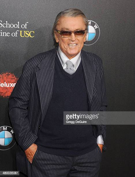 Robert Evans arrives at the 2nd Annual Rebel With A Cause Gala at Paramount Studios on March 20 2014 in Hollywood California