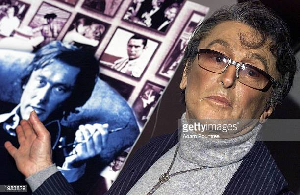 Robert Evans arrives at the screening of HBO production The Kid Stays In The Picture at the AOL Time Warner Screening Room New York City May 8 2003