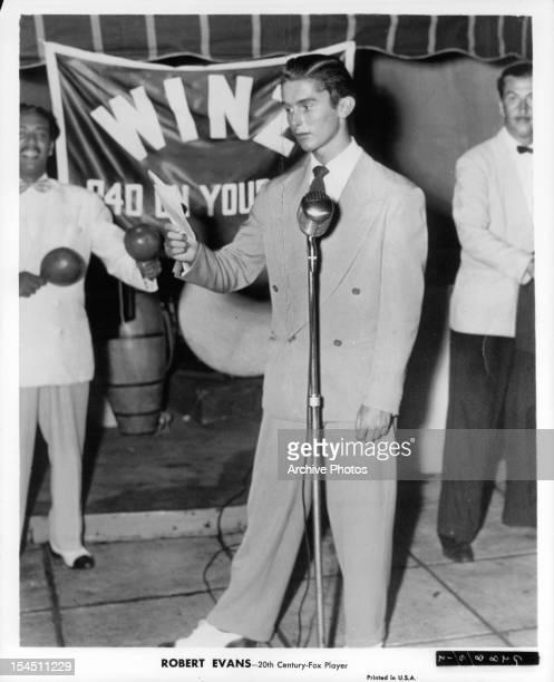 Robert Evans circa 1950