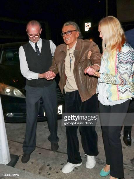 Robert Evans is seen on April 09 2018 in Los Angeles California