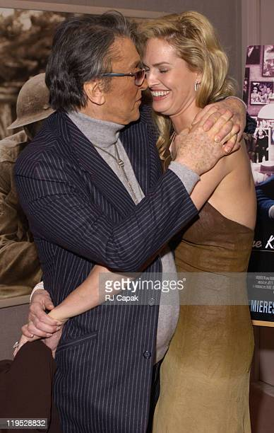 Robert Evans LeslieAnn during Special Screening of The HBO Presentation The Kid Stays In The Picture at AOL Time Warner Screening Room in New York...
