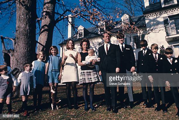 Robert F Kennedy and Family at Hickory Hill McLean Virginia June 4 1967