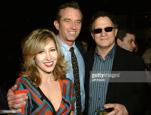 Robert F Kennedy Jr Albert Brooks and guest during Earth to America After Party at PURE Night Club Inside at PURE Night Club Caesar's Palace in Las...
