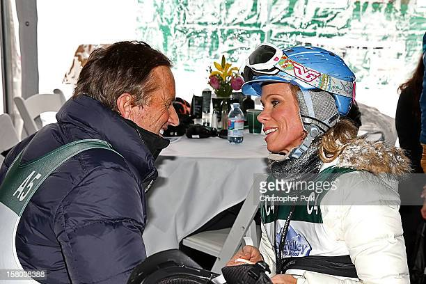 Robert F Kennedy Jr and Actress Cheryl Hines attend the Deer Valley Celebrity Skifest at Deer Valley Resort on December 8 2012 in Park City Utah