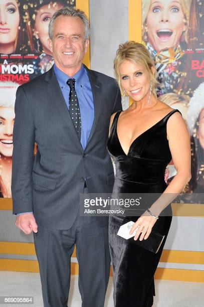 Robert F Kennedy Jr and Cheryl Hines attend the premiere of STX Entertainment's 'A Bad Moms Christmas' at Regency Village Theatre on October 30 2017...