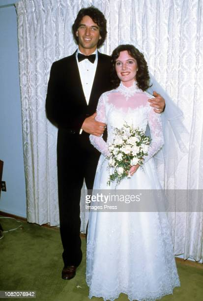 Robert F Kennedy Jr and Emily Ruth Black photographed after getting married on April 3 1982 in her hometown of Bloomington Indiana