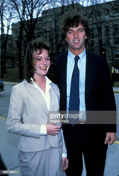 Robert F Kennedy Jr and Emily Ruth Black photographed the day before their wedding on April 2 1982 in her hometown of Bloomington Indiana