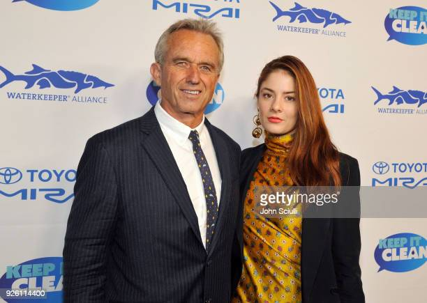 Robert F Kennedy Jr and Emily Tremaine attend Keep it Clean to benefit Waterkeeper Alliance on March 1 2018 in Los Angeles California