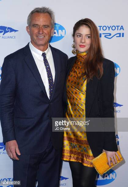 Robert F Kennedy Jr and Emily Tremaine attends] Keep It Clean Live Comedy Benefit for Waterkeeper Alliance at Avalon on March 1 2018 in Hollywood...