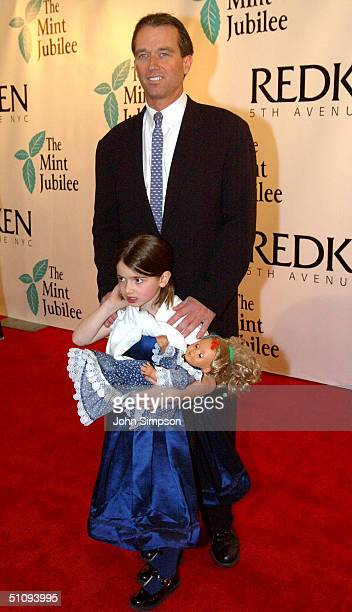 Robert F. Kennedy Jr. And His Daughter, Kyra, Attend The 6Th Annual Mint Jubilee Benefit For Louisville's James Graham Brown Cancer Center And The...