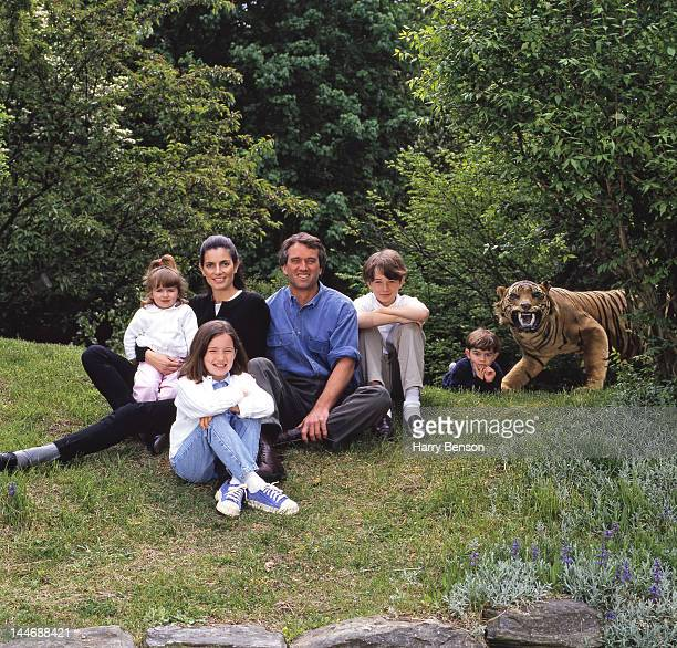 Robert F Kennedy Jr and wife Mary Richardson are photographed with children Robert F Kennedy III Kathleen 'Kick' Alexandra Kennedy Connor Richardson...