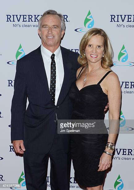 Robert F Kennedy Jr and writer Kerry Kennedy attend the 2015 Riverkeeper Fishermen's Ball at Pier Sixty at Chelsea Piers on May 20 2015 in New York...