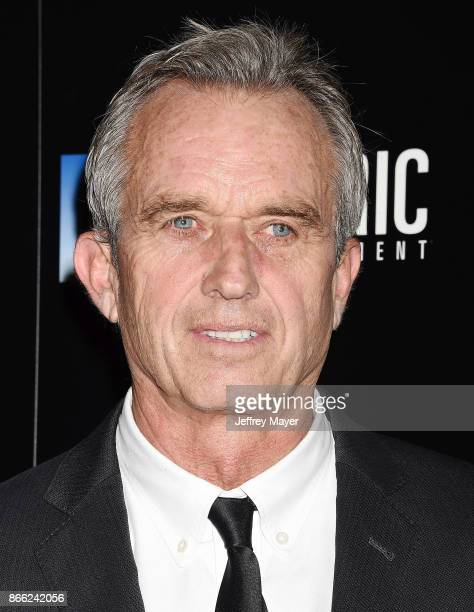 Robert F Kennedy Jr arrives at the premiere of Electric Entertainment's 'LBJ' at the Arclight Theatre on October 24 2017 in Los Angeles California