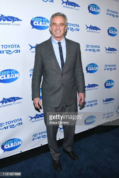 Robert F Kennedy Jr at 5th Annual Keep It Clean Live Comedy Benefit For Waterkeeper Alliance at Largo At The Coronet on February 21 2019 in Los...
