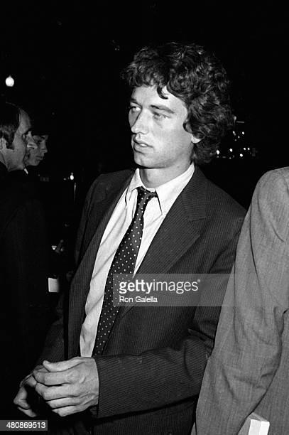 Robert F Kennedy Jr attend Courtney Kennedy Jeffrey Ruhe Wedding Ceremony on June 13 1980 at the Georgetown Club in Washington DC