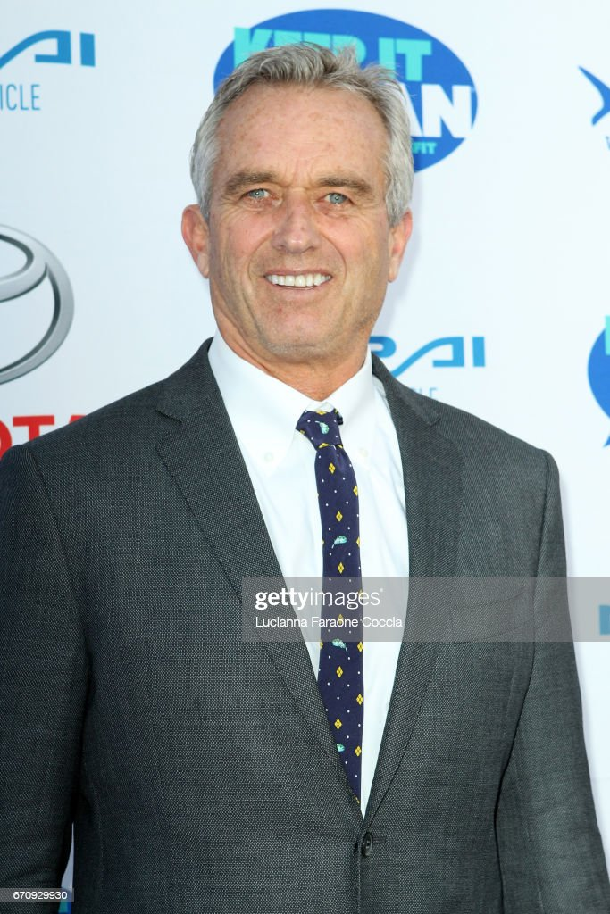 Robert F. Kennedy Jr. attends Keep It Clean Live Comedy Benefit for Waterkeeper Alliance at Avalon Hollywood on April 20, 2017 in Los Angeles, California.