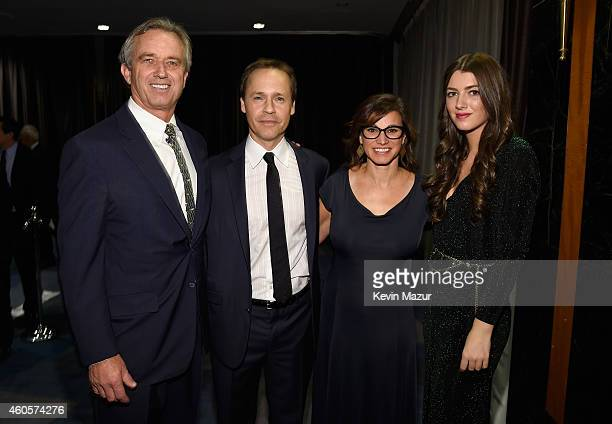 Robert F Kennedy Jr Chad Lowe Kim Painter and Mariah Kennedy Cuomo attend the RFK Ripple Of Hope Gala at Hilton Hotel Midtown on December 16 2014 in...