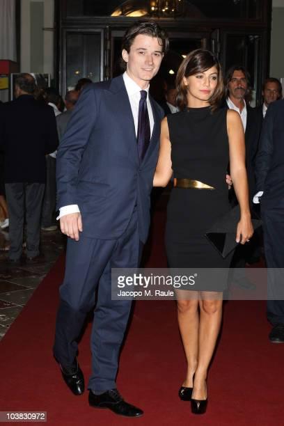 Robert F Kennedy Jr III and Alessandra Mastronardi attend Robert F Kennedy Jr III on September 3 2010 in Venice Italy