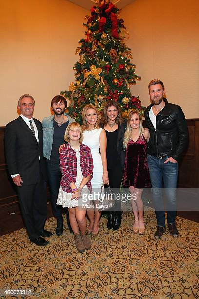 Robert F Kennedy Jr musician Dave Haywood guest actress Cheryl Hines singer/songwriter Hillary Scott guest and musician Charles Kelley of Lady...