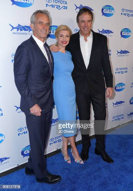 Robert F Kennedy Jr Susan Yeagler and Kevin Nealon attend Keep It Clean Live Comedy Benefit for Waterkeeper Alliance at Avalon on March 1 2018 in...