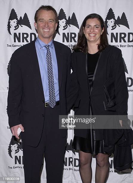 Robert F. Kennedy, Jr. & wife Mary Richardson during NRDC's 4th Annual Forces For Nature Gala Event Honoring Trudie Styler, Dan Tishman And Gary...