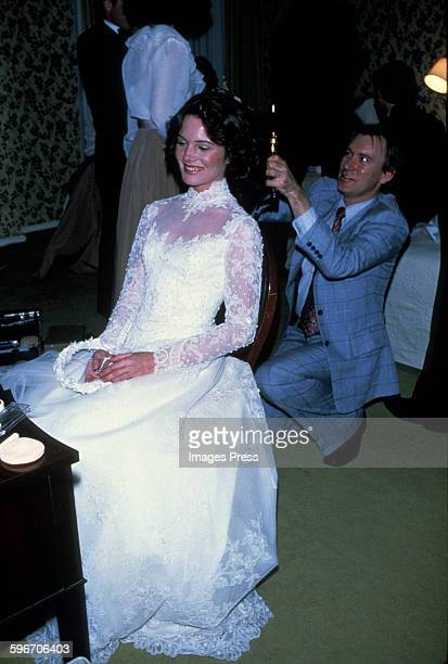 Robert F Kennedy Jr's bride Emily Ruth Black photographed on her wedding day April 3 1982 in her hometown of Bloomington Indiana