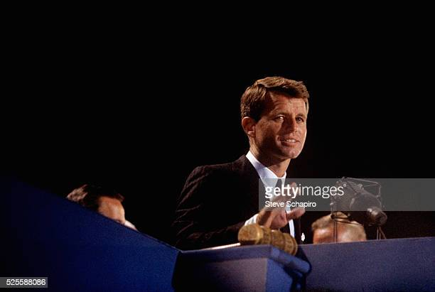 Robert F Kennedy speaking at the 1964 Democratic Convention