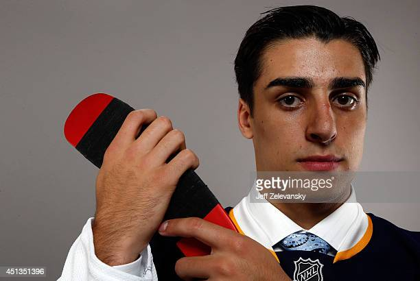 Robert Fabbri of the St Louis Blues poses for a portrait during the 2014 NHL Draft at the Wells Fargo Center on June 27 2014 in Philadelphia...