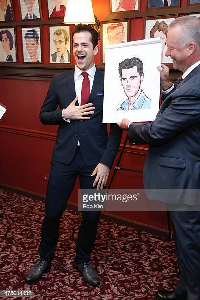 Robert Fairchild attends An American In Paris Sardi's Caricature Unveiling at Sardi's on May 28 2015 in New York City