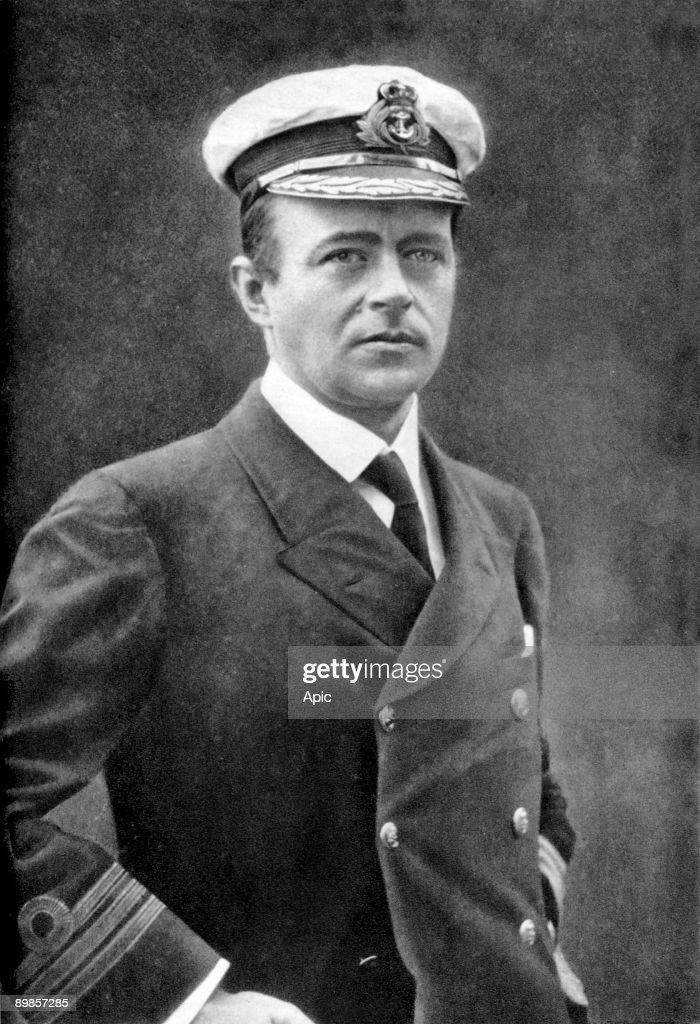 Robert Falcon Scott (1868-1912) naval officer explorer of Antarctic