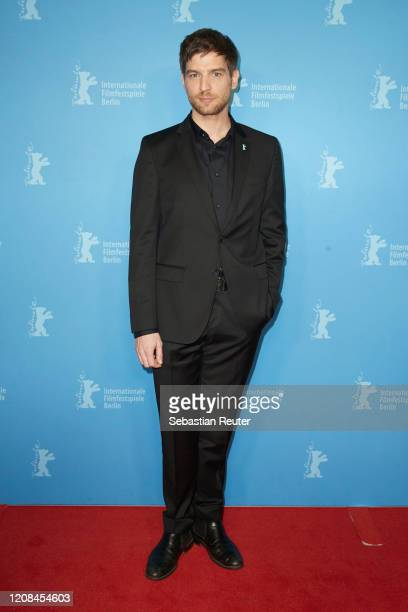 Robert Finster pose at the Netflix premiere of Freud during the 70th Berlinale International Film Festival Berlin at Zoo Palast on February 24 2020...