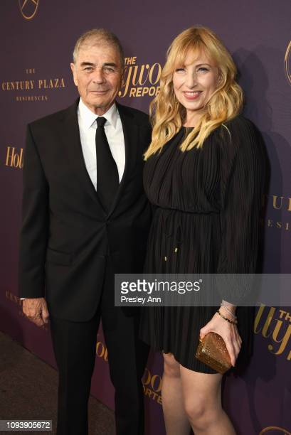 Robert Forster and Denise Grayson attend The Hollywood Reporter's 7th Annual Nominees Night presented by MercedesBenz Century Plaza Residences and...