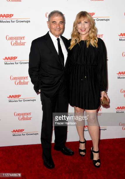 Robert Foster and Denise Grayson attend the 18th Annual AARP The Magazine's Movies For Grownups Awards at the Beverly Wilshire Four Seasons Hotel on...