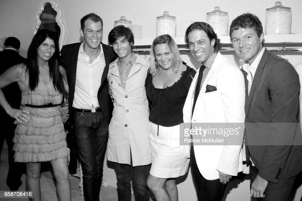 Robert Fowler Douglas Marshall Susan Fuller Jared Clark and Nick Dietz attend CHOCHENG Atelier Opening at 51 East 63rd Street on June 16 2009 in New...