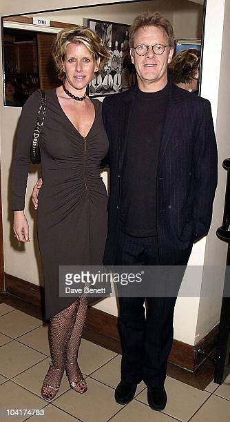 Robert Fox [producer Of The Hours]with His Wife Fiona Golfer Who Was Wearing De Beers Jewelery Charles Finch's Party At San Lorenzo's to Celebrate...