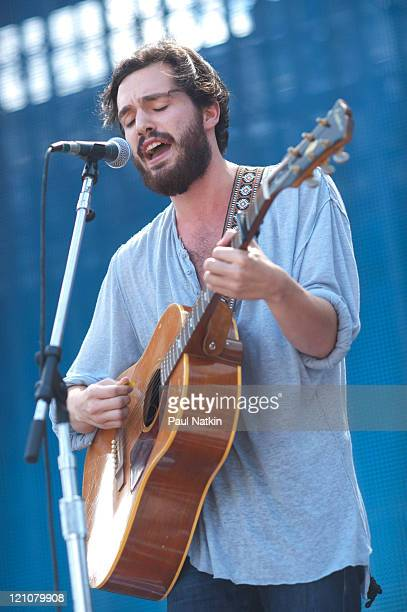 Robert Francis performs during Farm Aid 2011 at the LiveStrong Sporting Park on August 13 2011 in Kansas City Kansas