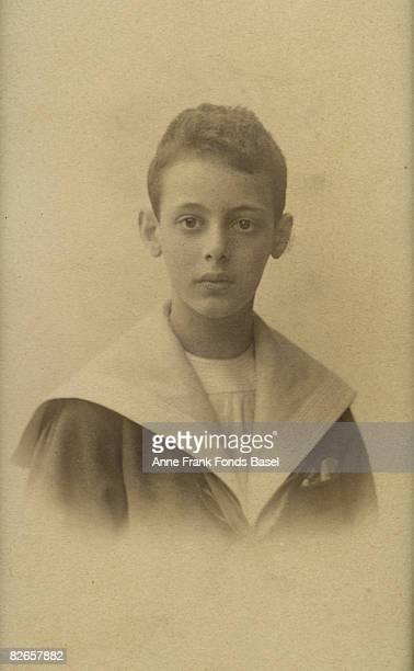 Robert Frank elder brother of Anne Frank's father Otto circa 1900
