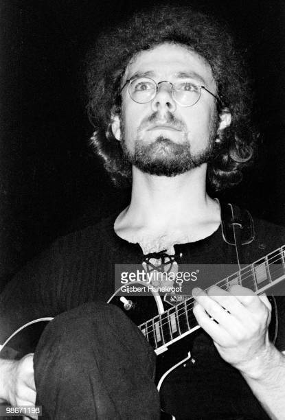 Robert Fripp from King Crimson performs live on stage at Concertgebouw in Amsterdam Netherlands on March 31 1973