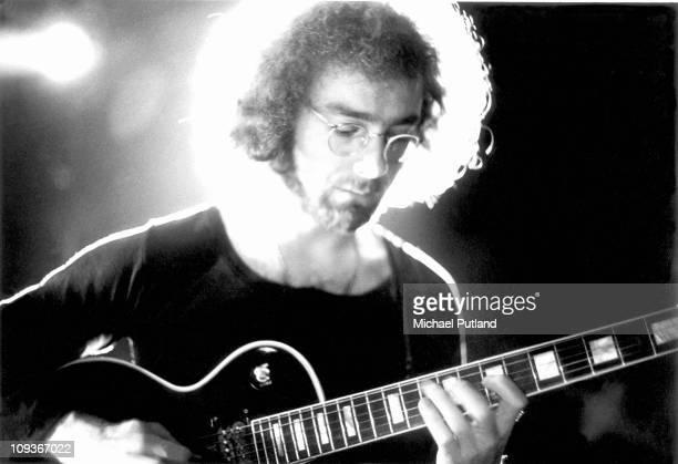 Robert Fripp of King Crimson performing in London 1971