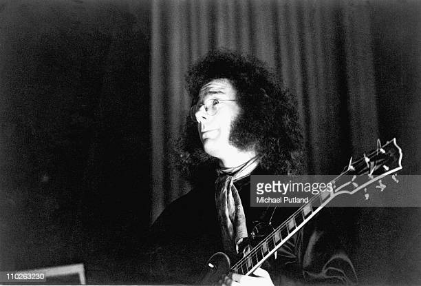 Robert Fripp of King Crimson performs on stage UK 1971