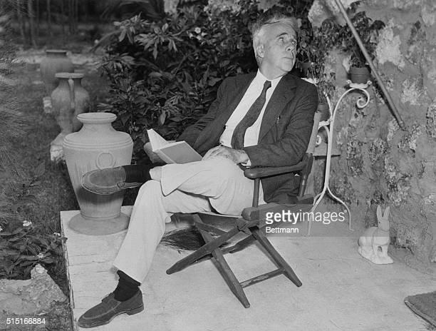 Robert Frost poet of Amherst New Hampshire