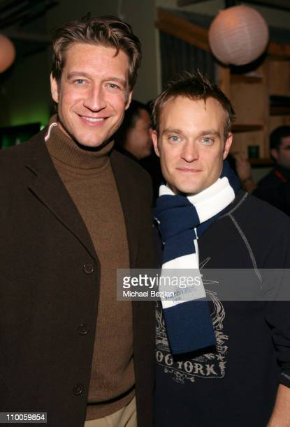 Robert Gant and Chad Allen during 2007 Park City - Outfest Party at Heineken Green Room at Heineken Green Room in Park City, Utah, United States.