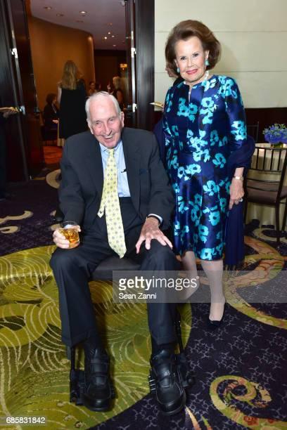 Robert Gardiner and Hildegarde Mahoney attend The Boys' Club of New York Annual Awards Dinner at Mandarin Oriental Hotel on May 17 2017 in New York...