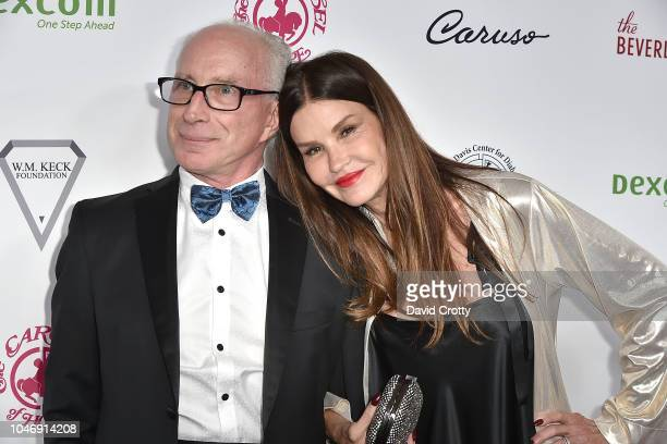Robert Gerner and Janice Dickinson attend the 2018 Carousel Of Hope Ball at The Beverly Hilton Hotel on October 6 2018 in Beverly Hills California
