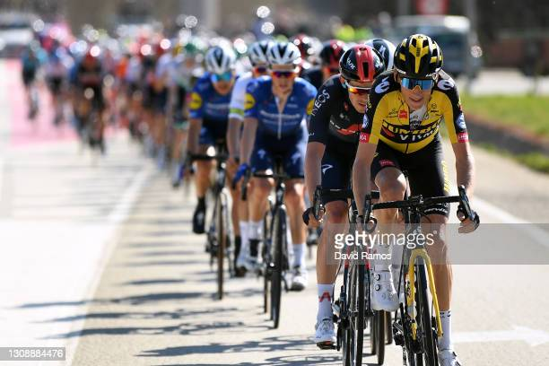 Robert Gesink of Netherlands and Team Jumbo - Visma during the 100th Volta Ciclista a Catalunya 2021, Stage 3 a 203,1km stage from Canal Olímpic de...