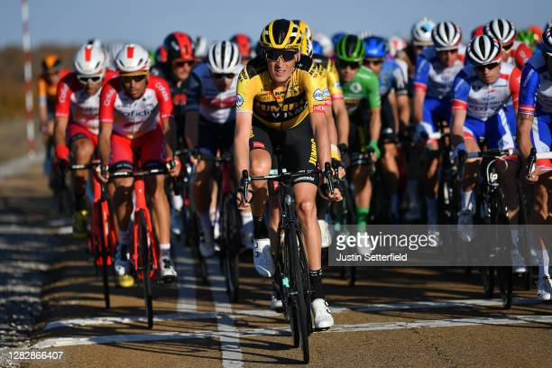 Robert Gesink of The Netherlands and Team Jumbo - Visma / during the 75th Tour of Spain 2020, Stage 9 a 157,7km stage from Cid Campeador Military...