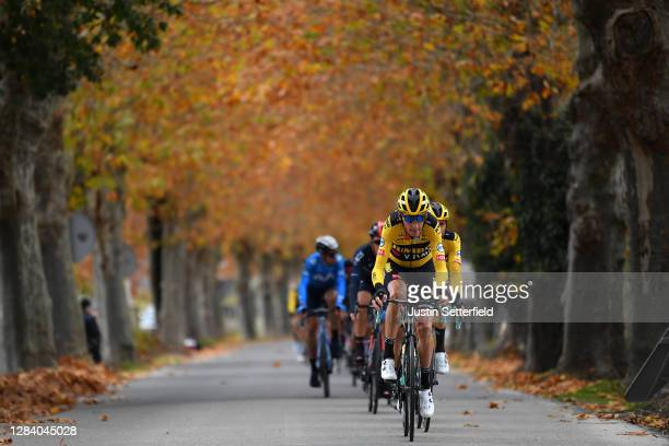 Robert Gesink of The Netherlands and Team Jumbo - Visma / during the 75th Tour of Spain 2020, Stage 15 a 230,8km stage from Mos to Puebla de Sanabria...