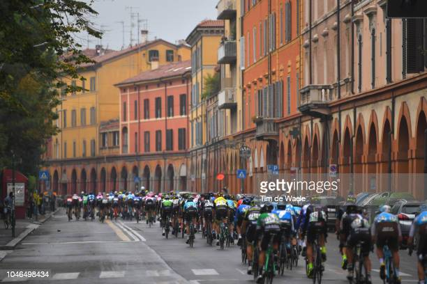 Robert Gesink of The Netherlands and Team LottoNL - Jumbo / Peloton / Bologna City / Landscape / during the 101th Giro Dell'Emilia 2018 a 207,4km...