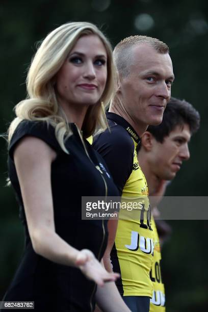Robert Gesink of The Netherlands and Team LottoNLJumbo attends the AMGEN Tour of California Team Presentation on May 12 2017 in Sacramento California
