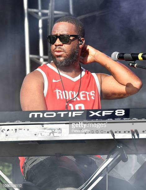 Robert Glasper of August Greene performs onstage during 2018 ONE Musicfest at Atlanta Central Park on September 9 2018 in Atlanta Georgia